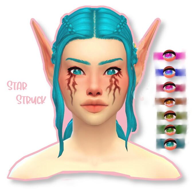 Sims 4 Star struck Eyes by Dark Devious Fox at Mod The Sims 4