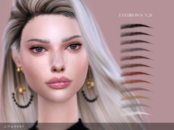Eyebrows N28 By Angissi