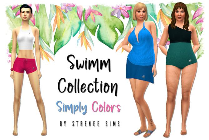 Swimm Collection Simply Colors