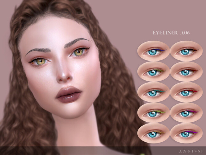 Sims 4 Eyeliner A06 by ANGISSI at TSR