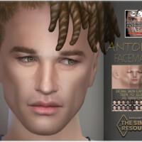 Antonio Facemask By Bakalia