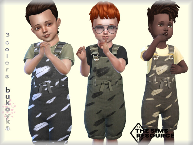 Sims 4 Overalls Male tod by bukovka at TSR