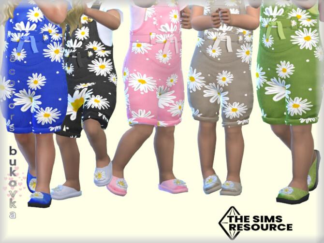 Sims 4 Shoes Chamomile by bukovka at TSR