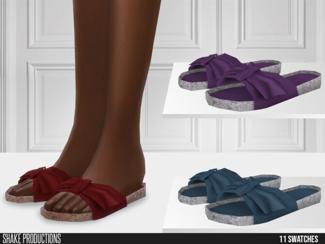 Sims 4 698 Slippers by ShakeProductions at TSR