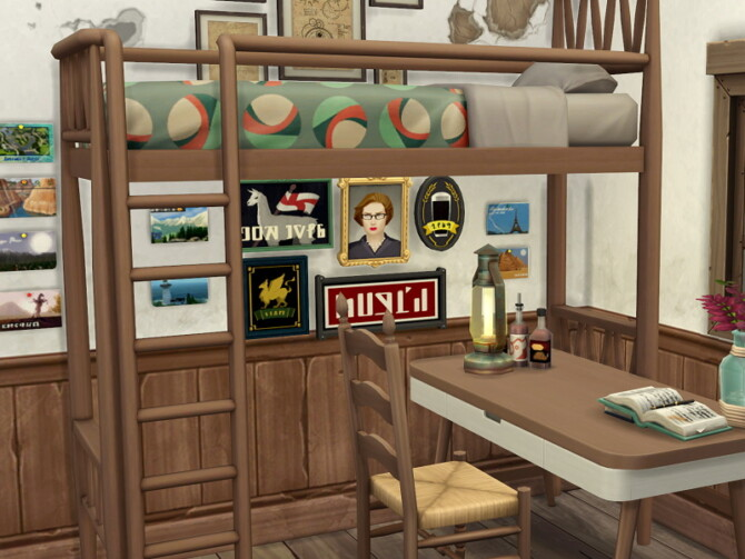 Sims 4 Tropical Fishing Camp by Flubs79 at TSR