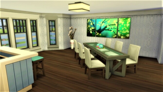 Sims 4 Honeysuckle home by SweetSimmerHomes at Mod The Sims 4