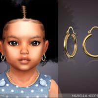 Mariella Hoop Earrings For Toddlers By Feyona