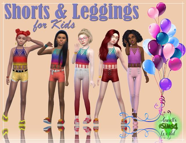 Shorts & Leggings For Kids