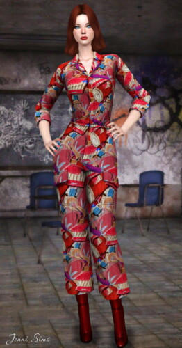 Base Game Compatible Overall / Jumpsuit