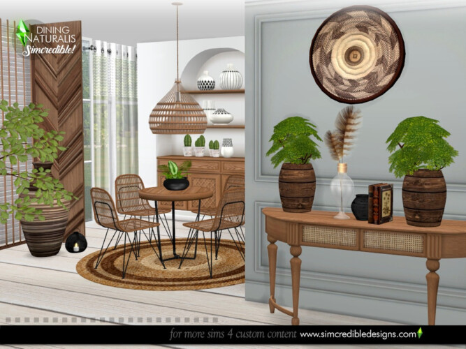 Naturalis Dining Room By Simcredible