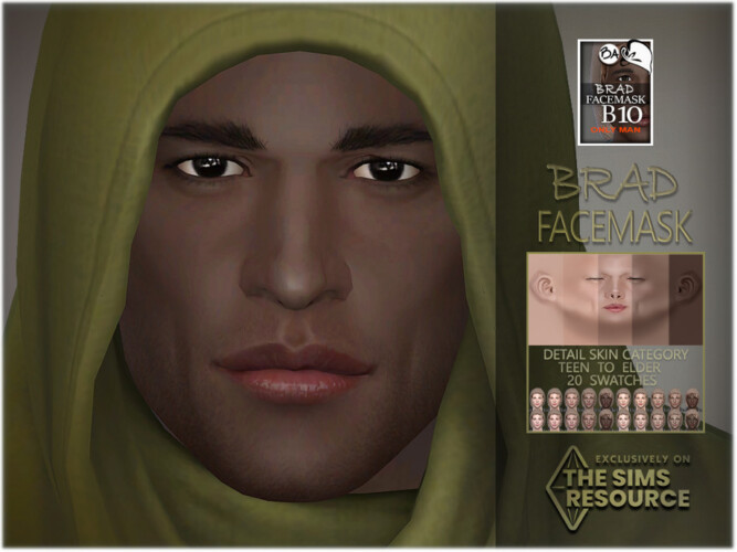 Brad Facemask By Bakalia