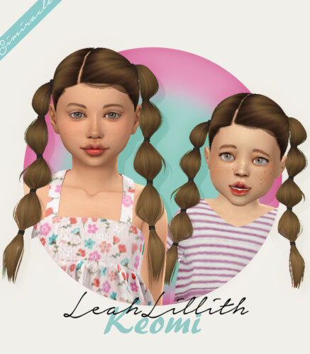 Leahlillith Keomi Hair For Kids & Toddlers