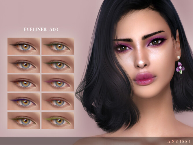 Eyeliner A03 By Angissi