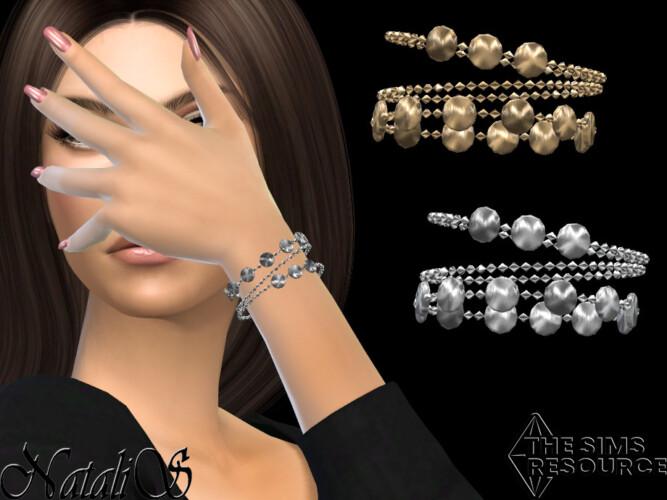 Mini Disk Chain Bracelets By Natalis