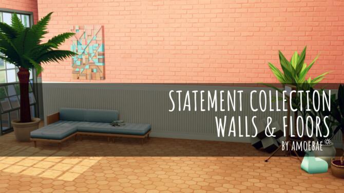 Tatement Collection Pt 2 Walls & Floors