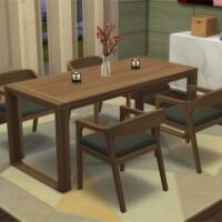 Akiro Dining Room