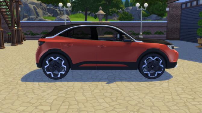 Sims 4 2021 Opel Mokka at LorySims