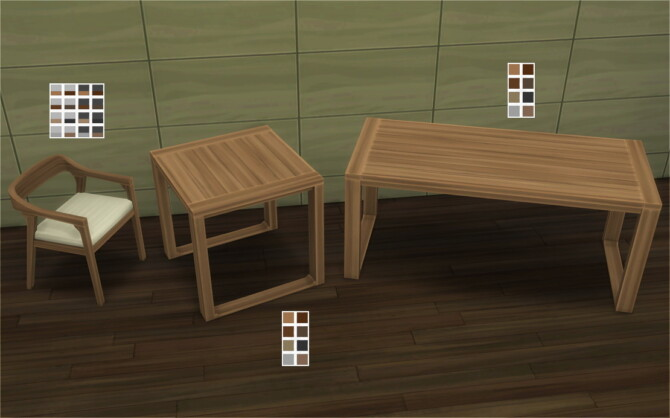 Sims 4 Akiro Dining Room at Veranka
