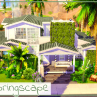 Springscape House By Simmer_adelaina