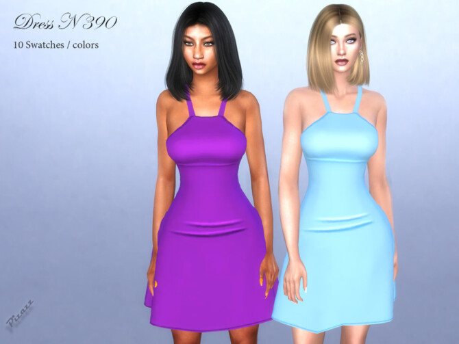 Sims 4 DRESS N 390 by pizazz at TSR