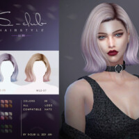 Natural Short Hair For Girls N90 By S-club Ll