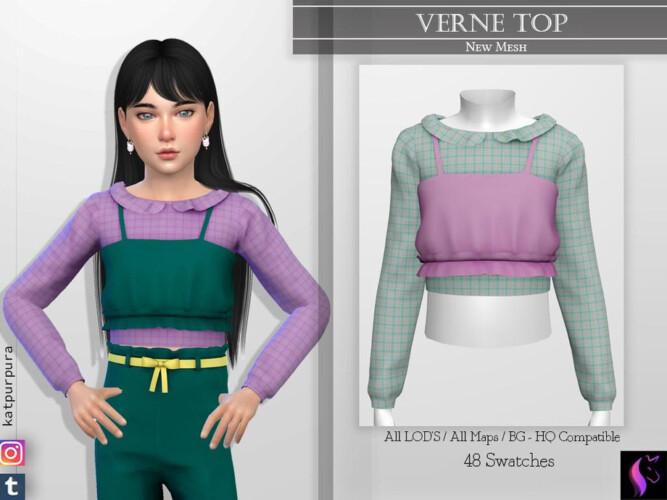 Verne Top By Katpurpura