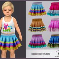 Toddler Skirt Rpl102b By Robertaplobo