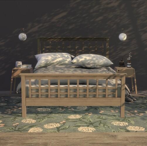 Craftsman High Footboard Bed