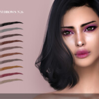 Eyebrows N26 By Angissi