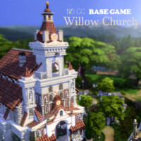 Willow Church By Virtualfairytales