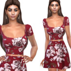 Floral Summer Skirt By Saliwa