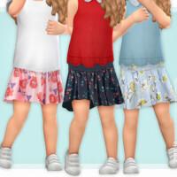 Toddler Skirt P05 By Lillka