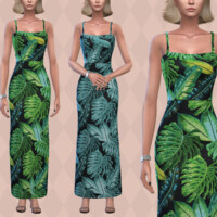 Frond Dress By Pipco
