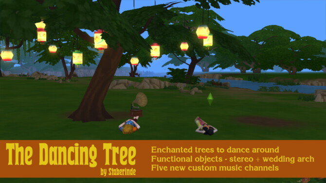 The Dancing Tree: A Tree-stereo By Staberinde