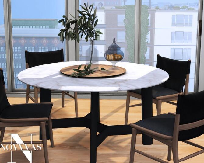 Sims 4 B&B ITALIA furniture set at Novvvas