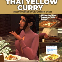 Thai Yellow Curry Custom Recipe