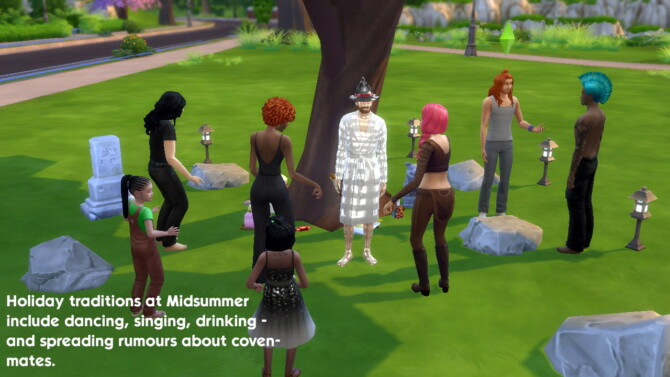 Sims 4 The Dancing Tree: a tree stereo by Staberinde at Mod The Sims 4