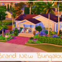 Brand New Bungalow By Simmer_adelaina