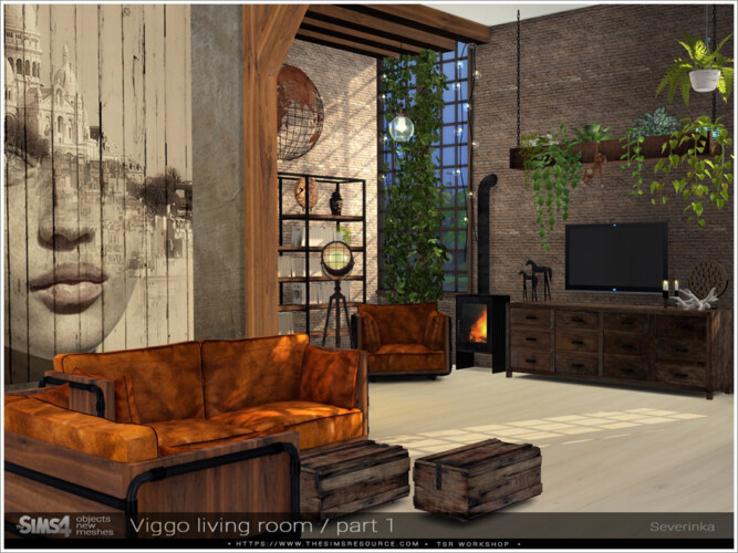 Viggo Livingroom Part I By Severinka