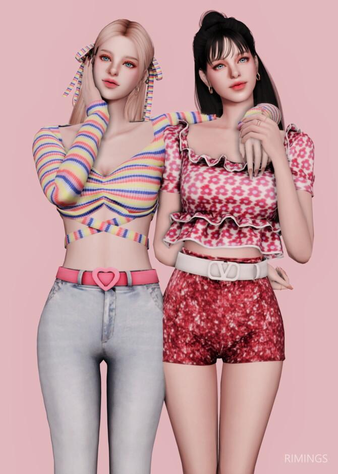 Sims 4 DUN DUN DANCE OUTFIT at RIMINGs