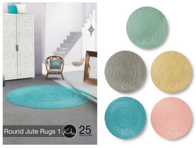 Round Jute Rugs 1