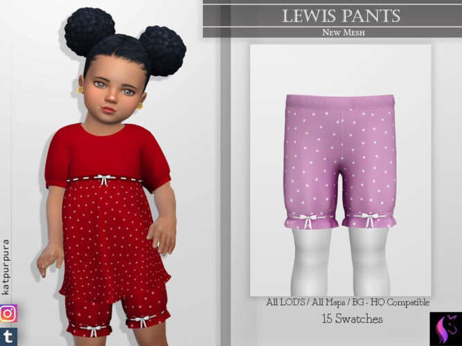 Lewis Pants By Katpurpura