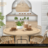 Naturalis Dining Decor By Simcredible