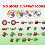No More Flyaway Icons By Gnasher316