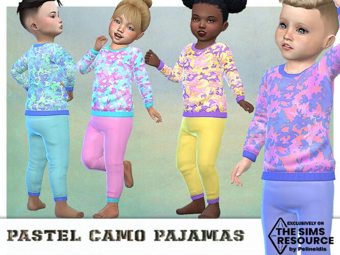 Pastel Camo Pajamas By Pelineldis