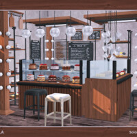 Laila Furniture Set For Bakery By Soloriya