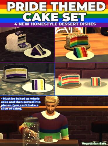 Pride Cake Pack 4 New Custom Recipes