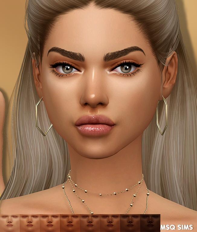 Sims 4 Amanda Skin at MSQ Sims