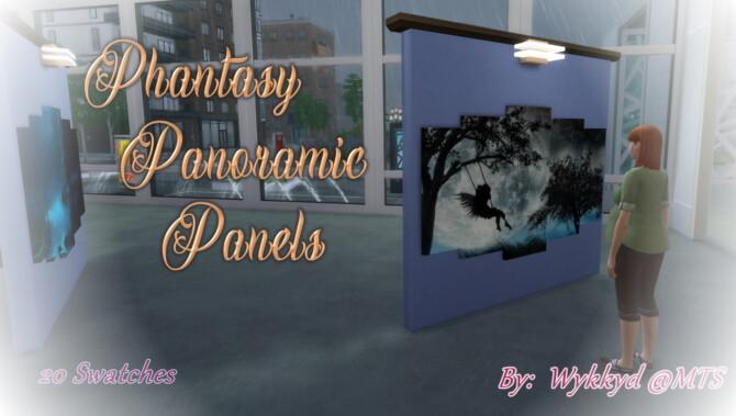 Phantasy Panoramic Art Panels By Wykkyd