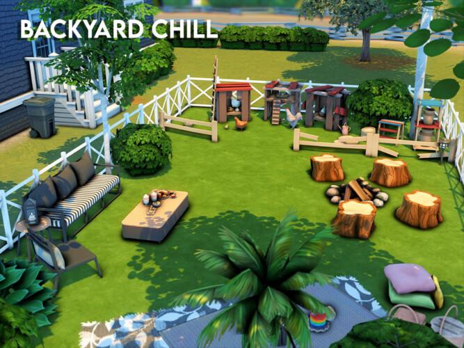 Backyard Chill By Xogerardine